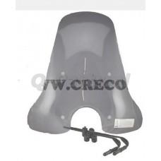 Windscherm Vespa LX hoog 73 cmsmoke imitatie (B kwaliteit)