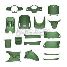 Kappenset China LX/AGM VX50/BTC Riva mat groen
