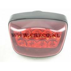 Achterlicht China Classic LX/AGM VX50/Turbho RL50 LED zwart