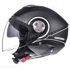 Helm MT City Eleven SV Tron zwart/wit medium 57-58