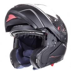 Helm MT Atom SV Solid systeem mat zwart medium57-58