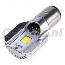 Lamp 12 V - BA20D LED 6W*2 800 lumen O.A. PIAGGIO