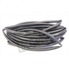 Kabel Tule 10 mm zwart 5 mtr.