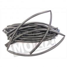 Kabel Tule 6 mm zwart 5 mtr.