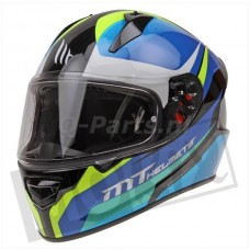 Helm MT Stinger Divided blauw medium57-58
