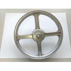 Voorwiel Vespa Ciao zilver 16 inch