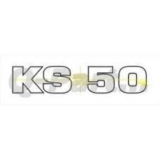 Sticker KS50 130*25 mm