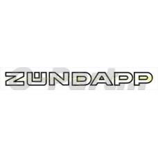 Sticker Zündapp 220*20 mm