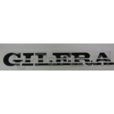 Sticker Gilera Woord zwart