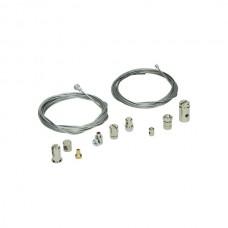 Kabel reparatie set 2 * kabel, 9 * nippel