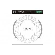 Remsegment Vespa-Piaggio Ciao Mix -Si Mix- Zip C06 voor Newfren GF0266