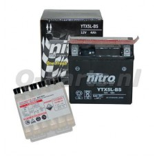 Accu YTX5L-BS / CTX5L-BS onderhoudsvrij Nitro (113/70/105)