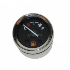 Benzineklok/ benzinemeter rond China Retro