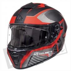 Helm MT Blade 2 SV Blaster mat zwart/rood medium 57-58