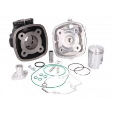 Cilinder Piaggio LC 50 cc DR inclusief cilinderkop