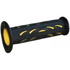 Handvatset Pro Grip PG0724 zwart/geel