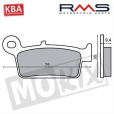 Remblokset China Retro/Kymco KB/K12/Dink voor