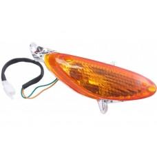 Knipperlicht compleet China scooter Speedy/Filly rechts voor oranje