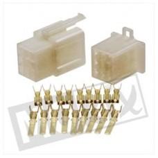 Plugset - connector/stekker 9 pins 20 delig