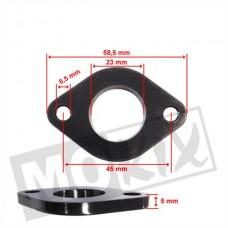 Spruitstukpakking-isolatieplaat China 4-takt GY6 125cc 152/157QMI