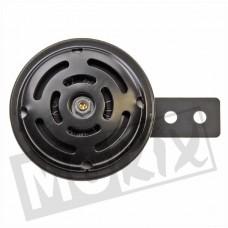 Claxon 6V-9W wisselstroom (AC) 70mm zwart