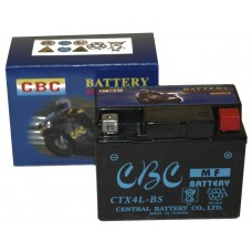 Accu CBC CTX4L-BS AGM (12V/4A)