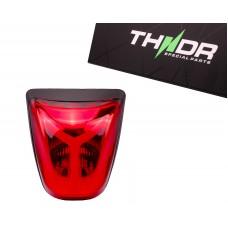 Achterlicht LED Tube THNDR Rood | Vespa Sprint
