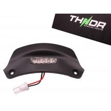Kentekenplaatverlichting LED THNDR Mat Zwart | Vespa Sprint