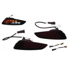 RAW-set Voor LED + DRL Smoke | Vespa Primavera / Sprint