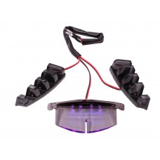 Verlichting Grill LED Paars   Piaggio Zip SP