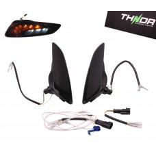RAW-set Voor LED SQ + Dagrijverlichting THNDR Smoke | Vespa Sprint