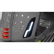 RAW-set Voor LED Level10 Smoke | Vespa Sprint / Primavera