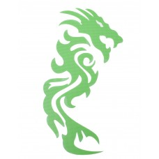 98.086011 STICKER DRAGON PLOTTER GROEN