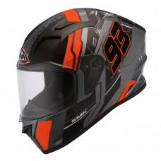 Helm SMK Stellar Swank Zwart-S