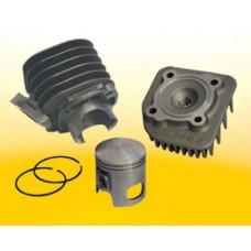Cilinder + Kop Malossi 47.0mm | Minarelli Horizontaal AC