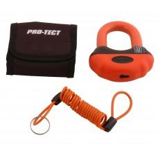 Schijfremslot Beugel Pro-Tect Oranje ART-4