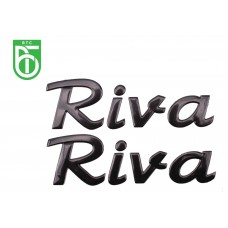 STICKERSET LOGO OEM | BTC RIVA ZWART