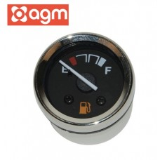 Benzinemeter Chroom OEM | AGM Retro