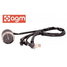 Benzinemeter Zwart OEM | AGM Retro