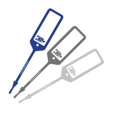 Sleutellabel Blauw (100st)