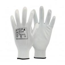 Werkplaats Handschoen PU-Flex | Maat M (8) Wit