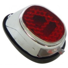 Achterlicht Edge Puch Maxi,  MS, MV50 - Oud Type - Chroom