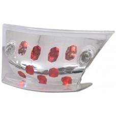 Achterlicht 'led' Edge Piaggio Zip 2000 helder glas