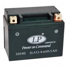 Accu Landport SLA-5 Ampere Gel - (SLA 12-4 / 5) (11 x 7 x 8,5 cm)