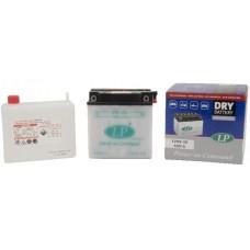 Accu Landport 12N9-3B onderhoudsvrij, inclusief zuurpakket