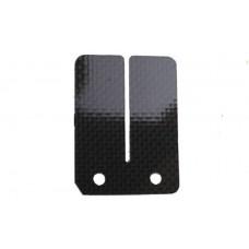 Membraan plaat Pocketbike carbon