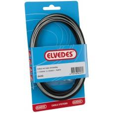 Gaskabel Elvedes universeel 1800mm / 2250mm verzinkt (6433)