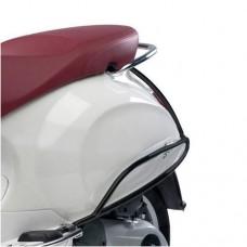 Achtervalbeugel Vespa Primavera, Sprint Mat-Zwart Origineel