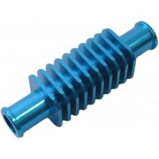 Koelelement tussen radiator slang vierkant blauw