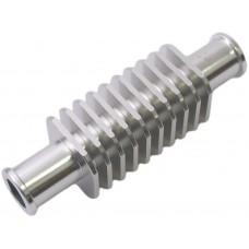 Koelelement tussen radiator slang zilver vierkant